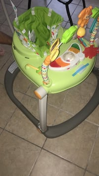 Green and black fisher-price activity table box Miami, 33138