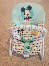 Baby rocker chair with toy bar Stafford, 22554