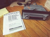 Kenwood KDC-MP232 Car Stereo Deck