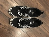 pair of black-and-white Nike sneakers Toronto, M4L 3T1