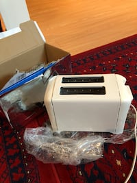 2 brand new toaster withe colour  Montreal, H1J 1G2