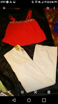 Nwt old navy pants and tank Winchester, 40391