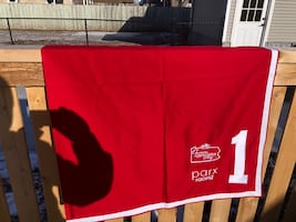 #1 saddle cloth horse racing