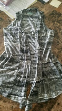 gray and white camouflage pants Warners, 13164