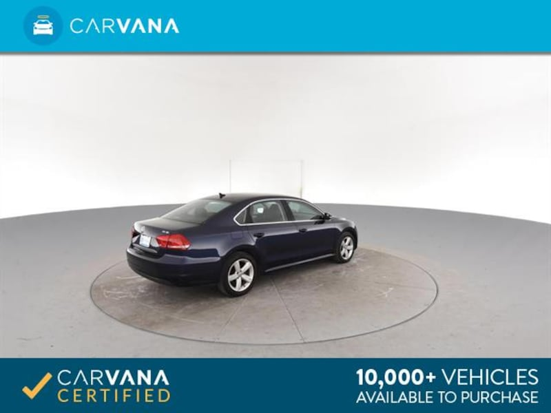 2013 VW Volkswagen Passat sedan TDI SE Sedan 4D Blue <br /> 11