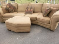 Sectional Sofa And Ottoman w/Pillows- DELIVERY AVAILABLE  College Park