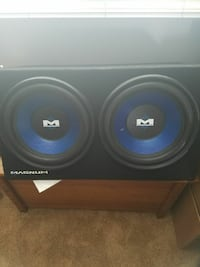 "Two 12""Magnum subwoofers"