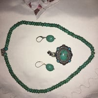 Beautiful Authentic Silver and  Turquoise Set Mississauga, L4Z 0C4