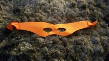 Michaelangelo ninja turtle mask