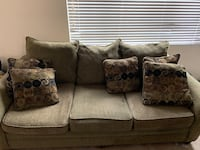 Sofa and love seat with coffee table  Annandale, 22003