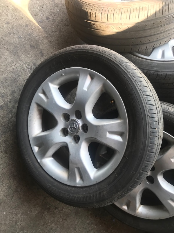 4 Toyota Corolla Rims And Tires 16