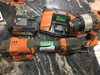 RIDGID SAW & HAMMER DRILL COMBO WITH BATERY & CHARGER Edmonton, T5B