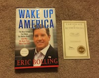 SIGNED copy of Wake Up America by Eric Bolling Laurel, 20708