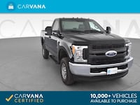 2017 Ford F250 Super Duty Regular Cab pickup XL Pickup 2D 8 ft Black Petersburg