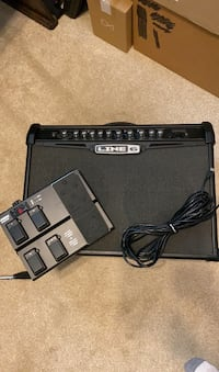 Line 6 spiders IV guitar amp and pedal Charleston, 29492