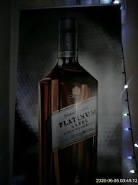 Johnnie Walker Scotch Whisky 7 Foot Vinyl Sign