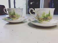 ROYAL ALBERT VINTAGE 1920's Set of Teacups Vancouver, V5L 3C9