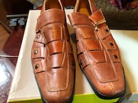 pair of brown leather dress shoes Simpsonville, 29680