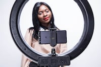 "18"" LED Diva Ring Light Kit by Fodoto Toronto"