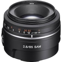 Sony Alpha 85mm F2.8 SAM Almost new