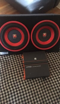 black and red Beats by Dr Harper Woods, 48225