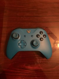 Xbox One Wireless Controller - Blue Silver Spring, 20906