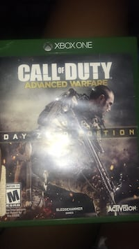 Xbox One Call of Duty Advanced Warfare case Reno, 89512