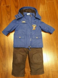 Disney tigger snowsuit set 18-24 months