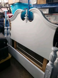Canopy Queen size bed frame