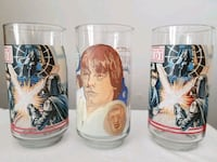 Burger King Star Wars Glasses From 1977, 1983. Smithtown