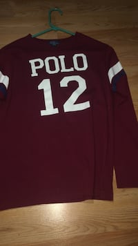 polo long sleeve brand new never worn size large kids Hyattsville, 20783