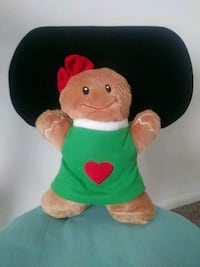 Gingerbread Stuffed Toy Frederick, 21702