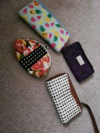 Small purses and fossil wallet Edmonton, T6J 6L7