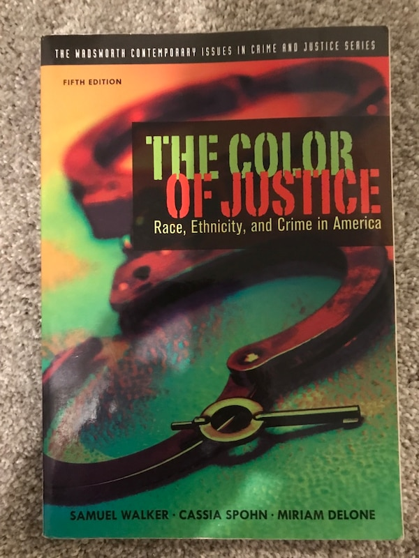 Used The Color Of Justice Book For Sale In Denver Letgo