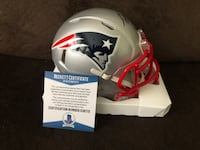 Ty Law Auto Patriots Mini Helmet Hurlock, 21643