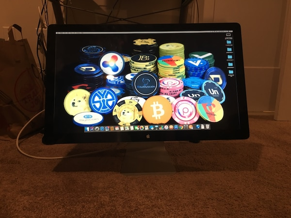 Apple LED display 27 inch