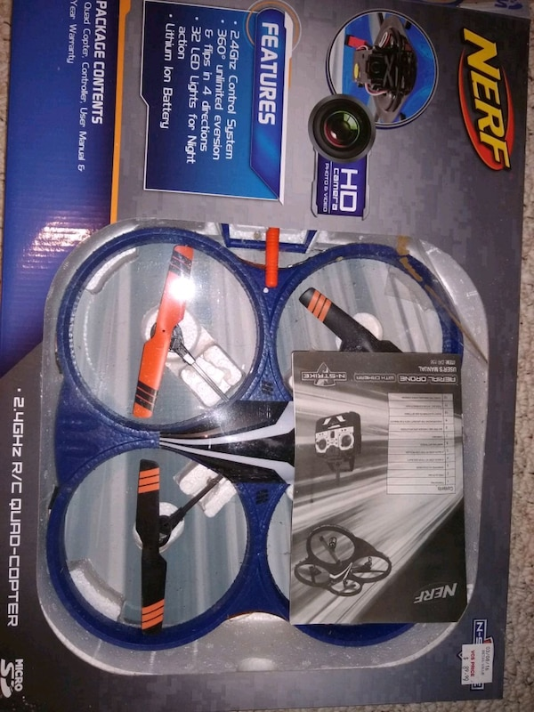 Nerf Quad Copter drone
