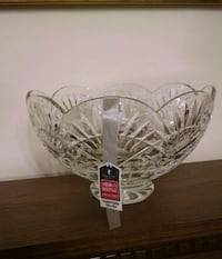 Waterford America Heritage Collection crystal bowl 402 mi