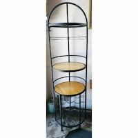 ⭐ Wrought Iron Corner Shelf Wine Rack Alexandria, 22309