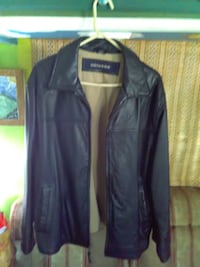 Dockers men's large leather jacket null