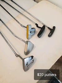 Golf putters.....your pick Chelmsford, 01824