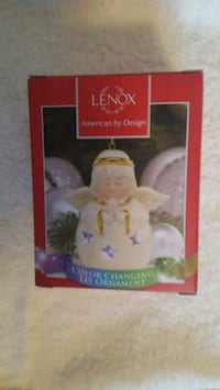 Lenox Christmas ornament