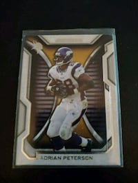 Adrian Peterson Card