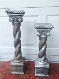 Pretty set of column candleholders (no holds) Bossier City, 71112