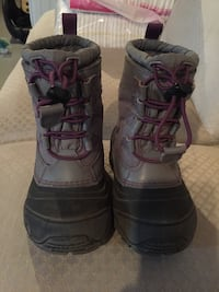 North face winter boots size 9T great condition