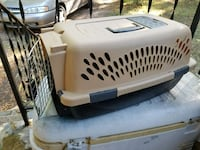 white and black pet carrier Raleigh, 27610