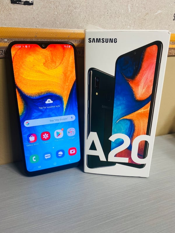 Factory Unlocked 32GB Samsung Galaxy A20 Android Smartphone 0
