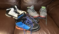 Used basketball sneakers - gently worn