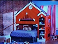 LOWERED PRICE - Firehouse bed from pillow kingdom Jackson, 49202