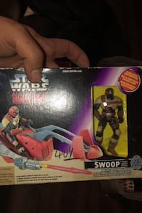 1996 Star Wars figure never opened